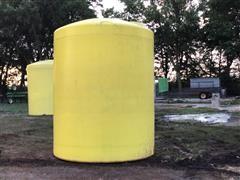 3000-Gallon Poly Storage Tank