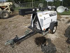 Wacker LTC4 Portable Light Tower And Generator