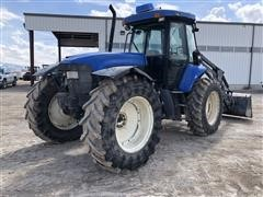 2007 New Holland TV145 4WD Tractor w/Loader