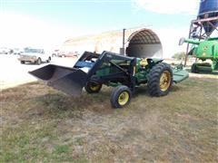 John Deere Farmhand 2440 2WD Tractor w/Loader & Mower