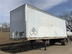 1998 Wabash National DVCVHSA 28' S/A Dry Van Trailer