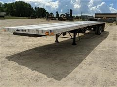 2004 Transcraft Eagle W2 Super Beam T/A Flatbed Trailer