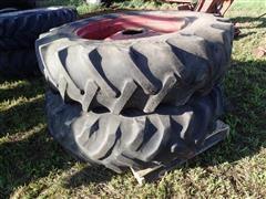 9 Bolt Duals W/18.4-38 Tires