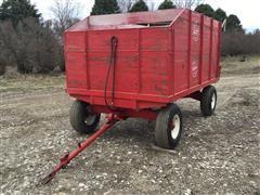 Heider Wooden Dump Wagon
