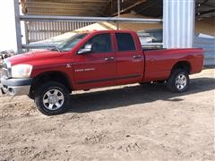 2006 Dodge Ram 3500 4WD SLT 4 Door Pickup Truck