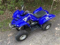 2007 Yamaha Raptor 50 Kids 2WD ATV