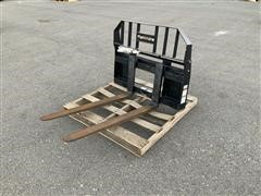 Mahindra 700782 Pallet Fork Attachment