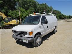 2007 Ford E250 Full Size Van