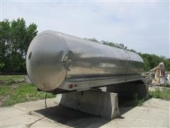 1989 Walker BPC-158 Stainless Steel Tank