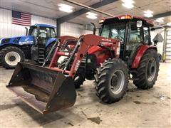 2005 Case IH JX1100U MFWD Tractor W/Loader