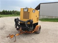 2007 Caterpillar D30-8 Generator On Two Wheel Trailer