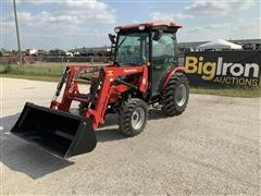 2017 Mahindra 2545ST MFWD Compact Utility Tractor W/Loader