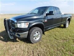 2008 Dodge Ram Big Horn 2500 4x4 Quad Cab Pickup