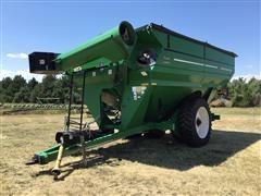 2007 J&M GrainStorm 1050-22D Grain Cart