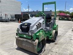 2013 Hamm HD12 Tandem Vibratory Smooth Drum Roller