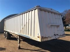 1992 Jet Co T/A Grain Trailer