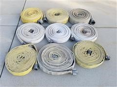 Red Head And Pow-R-Lite Fire Hoses