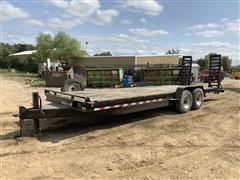 2013 Quality 9-Ton 24' T/A Flatbed Trailer