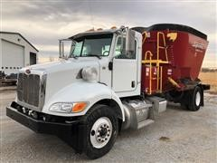 2011 Peterbilt PB337 Supreme International 600T Feed Truck