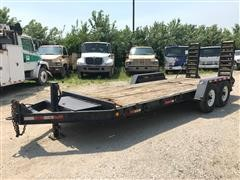 2009 Homemade 20' T/A Equipment Trailer