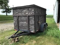 Shop Built T/A Box Trailer