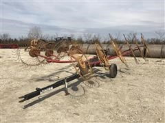 Kelderman 12-Wheel Rake