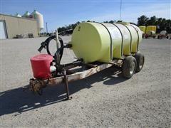 Clark 1000-Gal Nurse Tank On A T/A Trailer W/Gas Transfer Engine