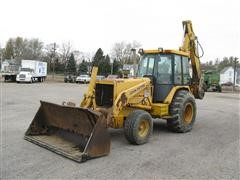 1990 John Deere 710C Loader Backhoe w/ Extend-A-Hoe