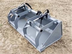 2019 Hawz Skid Steer Mount Grapple Bucket