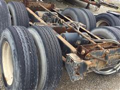 2001 Hutchens Semi-Trailer Tandem Axle W/Tires & Rims