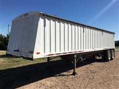 1997 Jet Co Steel Grain Trailer