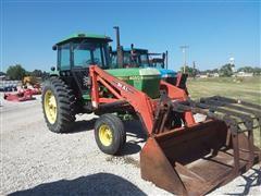 1983 John Deere 4050 2WD Tractor w/Loader