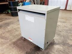 GE 9T23B3884 75 KVA Transformer