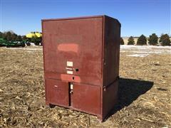 Jobox 674990R1 Metal Job Site Box
