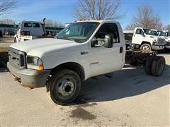 2004 Ford F550 Super Duty Cab & Chassis Pickup