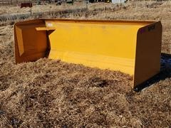 2019 Industrias America SP08 8' Wide Snow Pusher Skid Steer Attachment