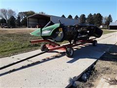 2016 Geringhoff RD630 Elite XL Chopping Corn Head W/Header Cart