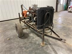 Ford 200 Power Unit W/Pump On Cart