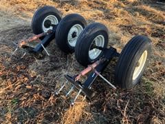 Dual Wheel Adjustable Gauge Wheels