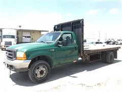 2000 Ford F550 Super Duty Flatbed Pickup