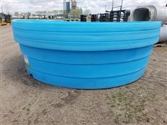 Behlen 9' Wide Round Poly Watering Tanks