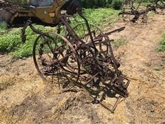 McCormick-Deering Antique Pull Behind/Ride On Cultivator