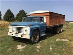1970 Ford F600 T/A Grain Truck