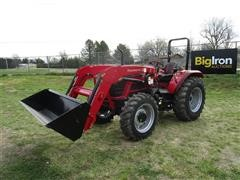 2017 Mahindra 6065 PST MFWD Tractor W/Loader & Bucket