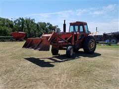 1975 Allis Chalmers 7040 2WD Tractor w/Dual 3150 Loader