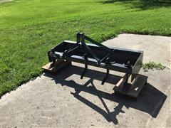 2014 Farmking BB 10-60 Box Blade W/Scafires 5 Adjustable