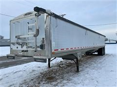2001 Wilson DWH-400 43' Pacesetter T/A Grain Trailer