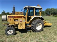 1990 Ford 7710 Tiger Special 2WD Industrial Mower Tractor