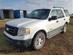 2007 Ford Expedition XLT 4 Door Sport Utility Vehicle