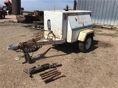 Joy RPV100GA21MS1 Portable Air Compressor And Jack Hammer